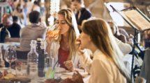 kobiety w restauracji
